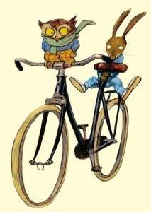Fahrrad, Postkarten -