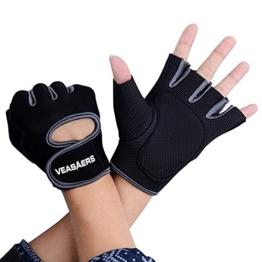 Groten Damen Herren Handschuhe Training Gym Fitness Sport Bodybuilding Radfahren Gloves -