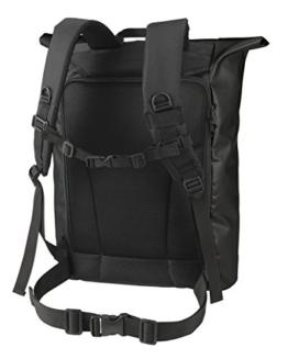 HALFAR® HF3908 Backpack Kurier Eco Rucksäcke Freizeit-Rucksäcke Tasche black -