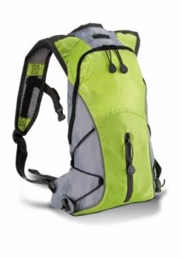 Kimood Hydra Backpack Rucksack Laufrucksack Fahrradrucksack Sportrucksack KM111 lime green / grey -