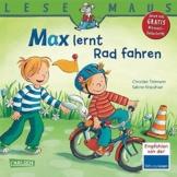 LESEMAUS, Band 20: Max lernt Rad fahren -