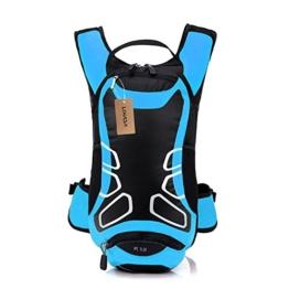 Lixada 12L Wasserabweisend Fahrrad Schulter Rucksack Wasser Reisetasche Ultralight für Radsport Outdoor Reiten Bergsteigen Hydration -