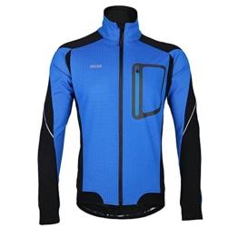 Lixada MTB Mountainbike Jacket Winter Trikot Radfahren Fahrradkleidung Winddicht Jersey -