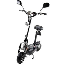 MACH1® Elektro E-Scooter mit EU Strassenzulassung 20Km/h Mofa Modell-2 EEC 36V/500W (Es besteht keine Helmpflicht für diesen Scooter) (1x 36V-16Ah Panasonic Akkus) -