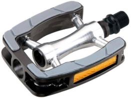 MARWI Pedale SP-823 - sehr gutes Touringpedal mit Gummi-Fußauflage -