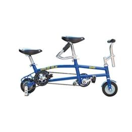 Mini Tandem QU-AX 6 Zoll blau -