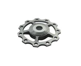 Outdoor Manager eloxiertem Aluminium Schaltwerk Jockey Rad Pulley SHIMANO SRAM 11T A5, silber -