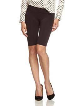 PIECES Damen Legging London Shorts/12, Gr. 38 (Herstellergröße: M/L), Schwarz -
