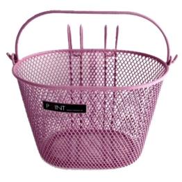 Point Kinder Fahrradkorb VR Colour, rosa, 25x16x16cm, 05107705 -