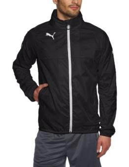Puma Herren Regenjacke, black-white, XL, 653968 03 -