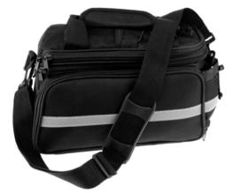 Reisende Gepäckträgertasche Erweiterbar Fahrrad Gepäcktasche Packtasche Fahrradtasche -