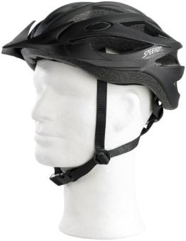 Speeron Komfort-Fahrradhelm mit In-Mold-Schale, Gr. L (58-61) -