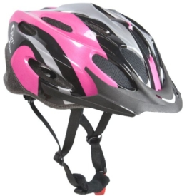 Sport Direct? Damen-Fahrradhelm Pink mit 22 Belüftungsschlitzen -