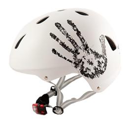 Sport DirectTM Bike BMX/Skateboard-Zyklus Fahrradhelm weiß 55-58 cm -