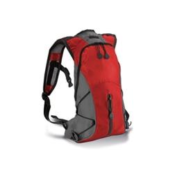 Ultraleichter Hydra Sport Rucksack in Kontrastfarben, Farbe:Black/Slate Grey;Größe:31 x 21 x 8 cm 31 x 21 x 8 cm,schwarz/grau -