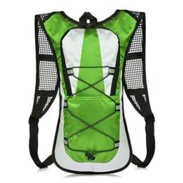 Vbiger 5L Leicht Fahrradrucksack Trinkrucksack Halter Wasserdicht Rucksack für Fahrradfahren ohne Trinksystem -
