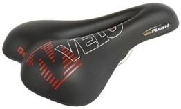Velo Fahrradsattel Plush Gel, schwarz -
