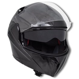 vidaXL Integralhelm Klapphelm Motorradhelm Sonnenblende Helm XL -