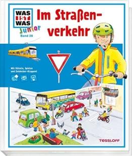 WAS IST WAS Junior Band 28. Im Straßenverkehr: Welche Verkehrsregeln gelten? Ist das eigene Fahrrad verkehrssicher? -