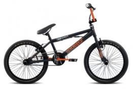 20 Zoll BMX Rooster Go Easy viele Farben + Pegs, Farbe:schwarz/orange -