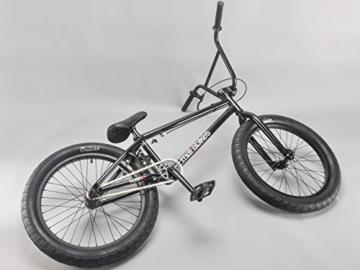 20 Zoll mafiabikes BMX Bike Kush 2.0 viele Farben, Farbe:Schwarz -