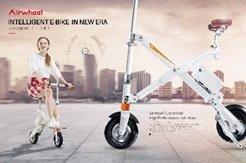 ARCHOS 503343 Air-wheel Urban Elektro-Scooter schwarz -