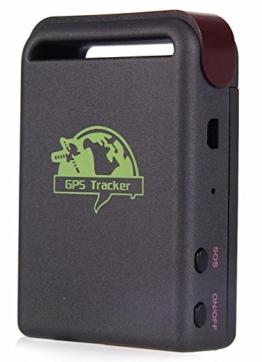 eyeCam EC524 GPS-Tracker Peilsender Personen und Fahrzeugortung GPS-Sender Echtzeitlokalisierung GPS Tracker für Auto Motorrad Kinder Senioren SOS Funktion KFZ SMS GPRS -