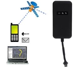 eyeCam EC5292 GPS-Tracker Peilsender Fahrzeugortung GPS-Sender Echtzeitlokalisierung GPS Tracker für Auto Motorrad KFZ SMS GPRS wasserdicht -