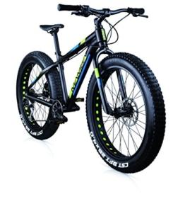 Fahrrad-Reiter MBM BLACK MAMBA Aluminium matt schwarz (M) -