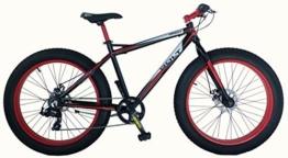 'frejus-bolt - Fahrrad fat-bike 26 New Aluminium -