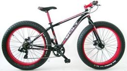'frejus-bolt - Fahrrad fat-bike 26 Stahl -