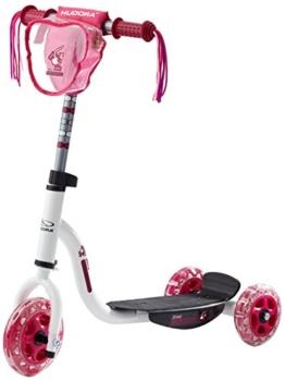 HUDORA 11060 - Kiddyscooter Joey Pinky 3.0, weiß/pink -