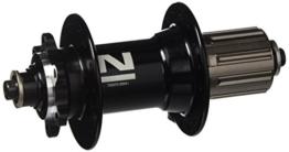NOVATEC Fahrrad Hinterrad Nabe Novatec MTB Disk 32L schwarz Schnellspanner 135mm -