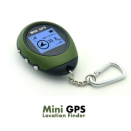 Pellor Location Finder Mini GPS Positionsfinder GPS-Empfänger GPS Navigation Tracker mit Datensammlung und Rechenfunktion Für Outdoor-Sport von 247happyshopping -