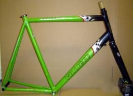 Villiger Bachata Alu 7005 28 Rennradrahmen Grösse 65 cm mit Gabel Rahmen Neu -