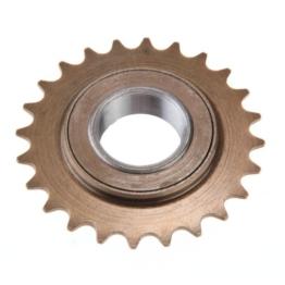 fitTek® Single-Speed Fahrrad Freilauf-Zahnkranz Ritzel Kassetten Zahnrad 24-Zähne -