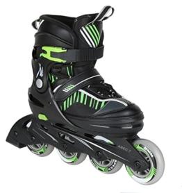 Inline Skate Jugend Gr. 35-39 blau (grün) -
