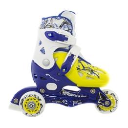 Inlineskates, Rollschuhe für Kinder, 2 in 1, größenverstellbar NIPPER Spokey -