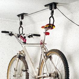 Torrex 30170 Bike Lift bis zu 20Kg Tragkraft TÜV/GS geprüft (2 Stück Bike Lift) -
