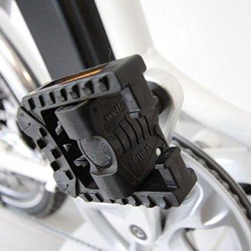 20 Zoll SWEMO Pedelec Alu Falt E-Bike klappbar SW200 (schwarz) -