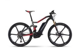 E-Bike Haibike XDURO FullSeven Carbon 10.0 27,5' 11-G XTR Bosch Performance CX, Rahmenhöhen:50, Farben:Carbon/Anthrazit/Rot matt -