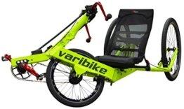 Hand + Fuß Trike. Varibike neon gelb Shimano XT-10fach -