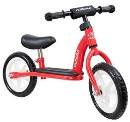 HUDORA Laufrad Toddler für die Kleinsten 10 Zoll rot -