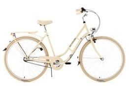 KS Cycling Damen Fahrrad Cityrad Casino 3 Gänge, Beige, 28, 702C -
