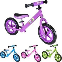 Lauflernrad aus Metall von boppi® (2-5 Jahre) - Lila -