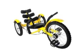MOBO Cruiser Mobito Tretfahrzeug Kinderdreirad 4 - 10 Jahre - gelb -