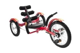 MOBO Cruiser Mobito Tretfahrzeug Kinderdreirad 4 - 10 Jahre - rot -