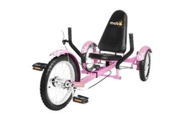 "MOBO Cruiser ""Triton"" Liegefahrrad Dreirad - Pink -"