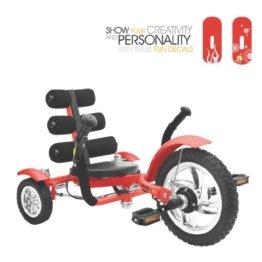 Mobo Mini 3 Wheel Cruiser, rot -