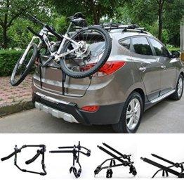 WOLTU Fahrradträger Fahrradhalter 2 Räder Heckträger Fahrrad Auto faltbar FZU1115 -